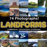 Photos Photographs LANDFORMS clip art