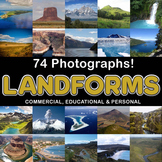 Photos Photographs LANDFORMS clip art