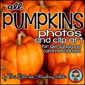 Photos Photographs PUMPKINS Clip Art with LIFE CYCLE