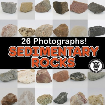 Photos SEDIMENTARY ROCKS / ROCK CYCLE clip art