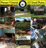 Stock Photos: Colonial Pioneer Revolutionary War Period Bundle