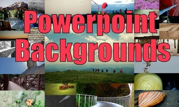 Photos : Powerpoint Backgrounds
