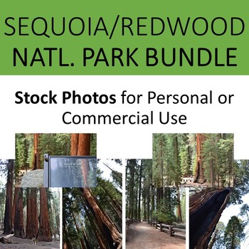 Photos Sequoia and Redwood National Parks for Personal and Commercial Use