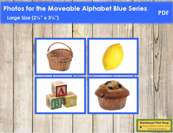 Photos for Moveable Alphabet - Blue Series (Large)
