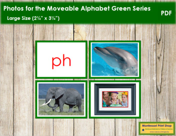 Photos for Moveable Alphabet - Green Series (Large)