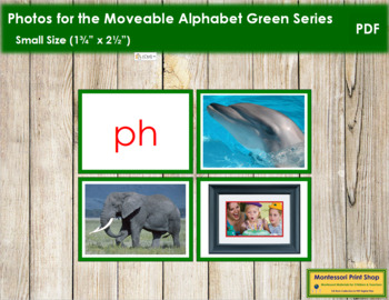 Photos for Moveable Alphabet - Green Series (Small)