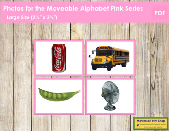 Photos for Moveable Alphabet - Pink Series (Large)