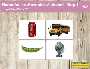 Photos for Moveable Alphabet - Step 1 (Large)