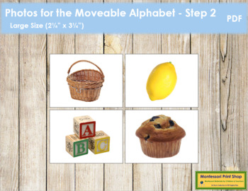 Photos for Moveable Alphabet - Step 2 (Large)