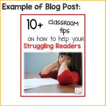 Photos for Teacher Bloggers!