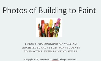 Photos of Buildings to Paint