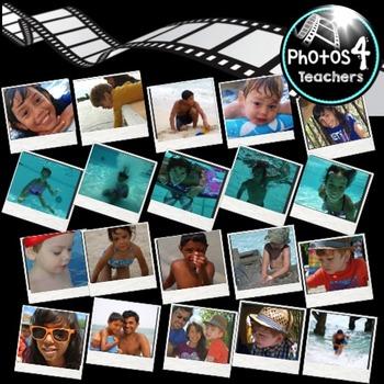 Photos of Kids in Summer