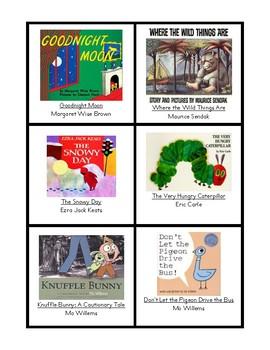 Photos of Popular Children's Books