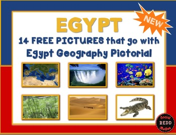 Photos that go with my Egypt Geography Pictorial Lesson