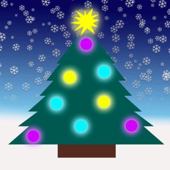 Photoshop Animated Christmas Tree