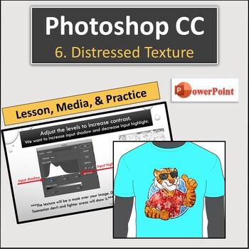 Adobe Photoshop CC Lesson 6: Distressed Texture (Vintage)