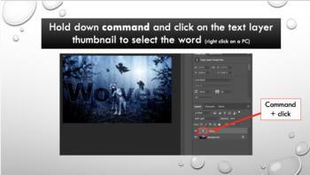 Photoshop CC Lesson 9: Text Tricks