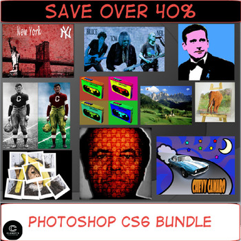 Photoshop CS6 Bundle - 10 Complete Lessons for Beginners