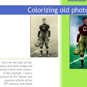 Photoshop CS6 Tutorial - Adding Color to a Black and White image
