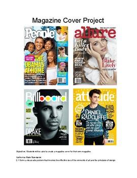 Adobe Photoshop   Custom Magazine Cover Project Part I of II