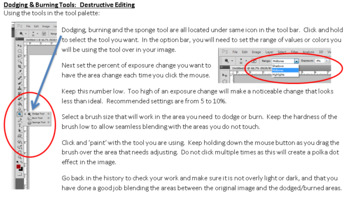 Photoshop Dodge and Burn Destructive v. Non-Destructive Edits