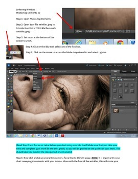 Photoshop Elements Intro Unit Lesson 2: How to Smooth and Eliminate Wrinkles