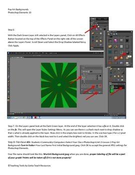 Photoshop Elements Unit 2 Andy Warhol Step 2 Background