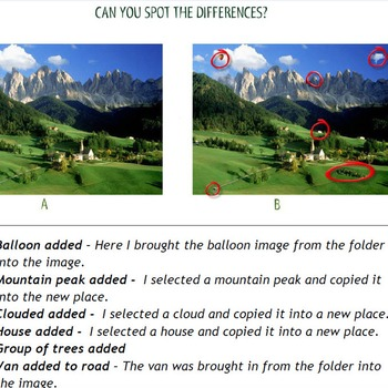 Photoshop CS6 Intro Tutorial - Spot the Differences