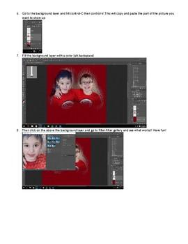 Photoshop Modern Art Project