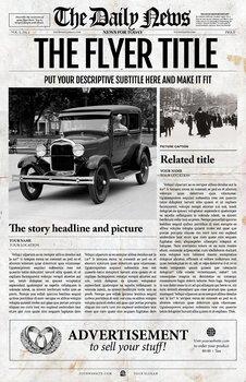 Photoshop Newspaper Template