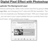 Photoshop Pixel Effect - How to Pixelate a Photo
