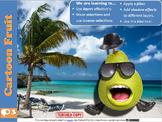 Photoshop Tutorial 3 – Cartoon Fruit (selection, inverse,