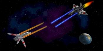 Photoshop Tutorial: Creating a 3D Space Battle