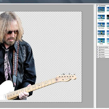 Photoshop CS6 Tutorial - Creating a Music Collage Poster