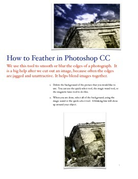 Photoshop Tutorials- Feathering, Actions, Brushes