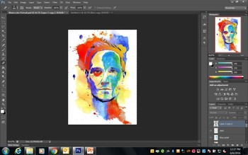 Photoshop - Watercolor Portraits