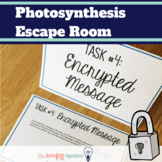 Photosynthesis Activity.  Escape Room