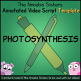 Photosynthesis Annotated Video Script TEMPLATE - Amoeba Sisters