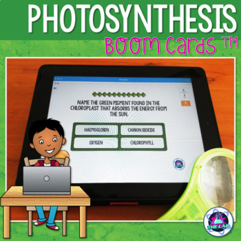 Photosynthesis BOOM Cards (Distance Learning)