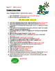 Photosynthesis Board Notes Worksheet with KEY