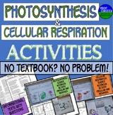 Photosynthesis & Cellular Respiration No Textbook No Problem!