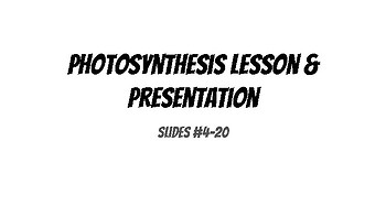 Photosynthesis & Cellular Respiration Manipulative & INB BUNDLE!