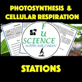 Photosynthesis & Cellular Respiration Stations