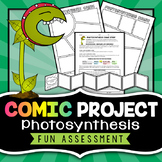 Photosynthesis Project - Comic Strip Activity