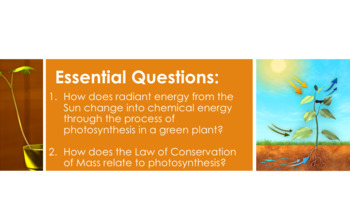 Photosynthesis Complete 5E Lesson Plan