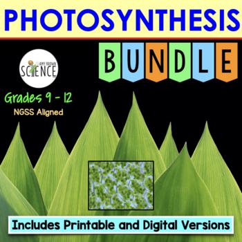 Photosynthesis Complete Unit Plan Bundle