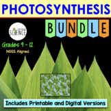 Photosynthesis Bundle | Printable and Digital Distance Learning