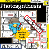 Photosynthesis Detective - Matching Review Bundle