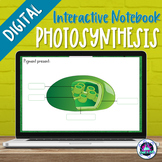 Photosynthesis Digital Interactive Notebook | Distance Learning