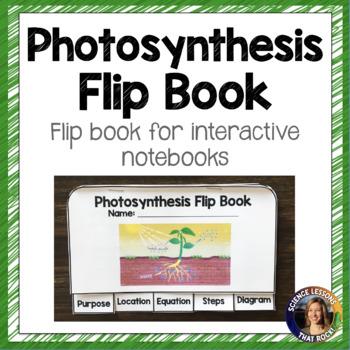 Photosynthesis Flip Book